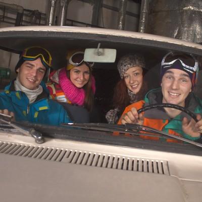Fotenie reklamy pre Ski Košútka